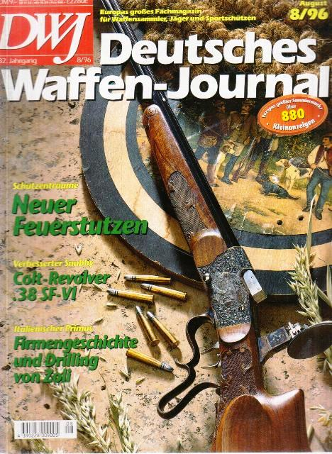 Deutches Waffen - German Weapons Journal (ročník 32, číslo8)